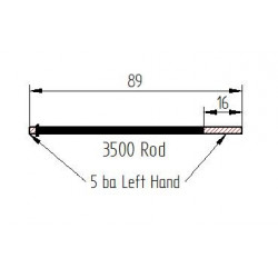 Onoto 3500 type rod