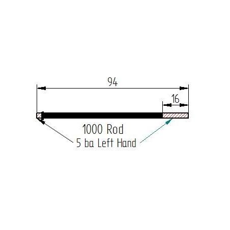Onoto 1000 type rod